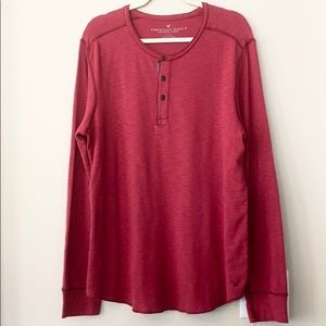 American Eagle Outfitters Long Sleeve Shirt L